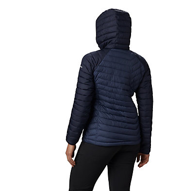 Giacca con cappuccio Powder Lite™ da donna Powder Lite™ Hooded Jacket | 103 | XS, Nocturnal, Dark Nocturnal, back