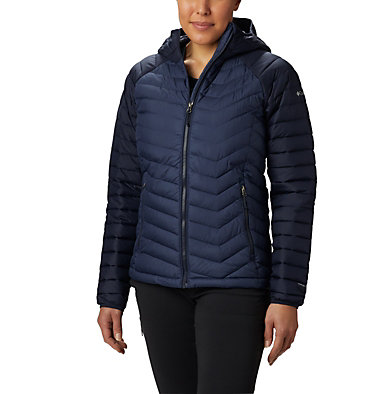 Powder Lite™ Kapuzenjacke für Damen Powder Lite™ Hooded Jacket | 011 | XS, Nocturnal, Dark Nocturnal, front
