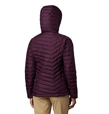 Women's Powder Lite™ Hooded Jacket Powder Lite™ Hooded Jacket | 522 | L, Black Cherry, back