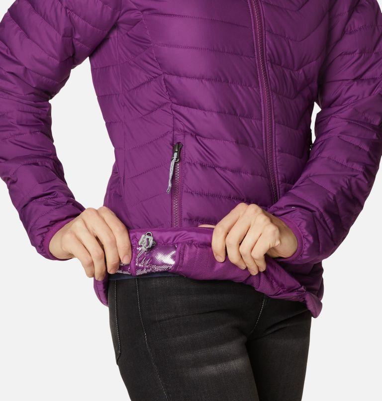 Powder Lite™ Hooded Jacket | 575 | XL Doudoune à Capuche Powder Lite™ Femme, Plum, a4