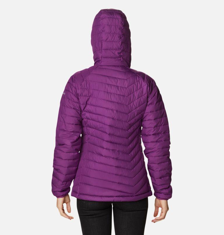 Powder Lite™ Hooded Jacket | 575 | L Doudoune à Capuche Powder Lite™ Femme, Plum, back