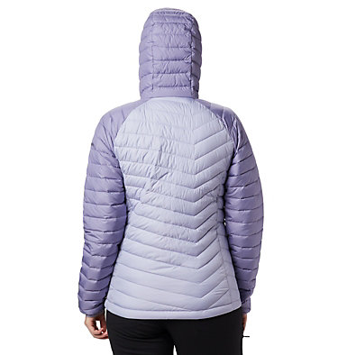 Doudoune à Capuche Powder Lite™ Femme Powder Lite™ Hooded Jacket | 103 | XS, Twilight, Dusty Iris, back