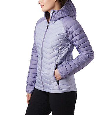 Doudoune à Capuche Powder Lite™ Femme Powder Lite™ Hooded Jacket | 192 | XS, Twilight, Dusty Iris, front