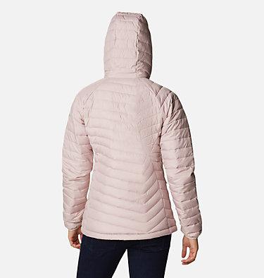 Women's Powder Lite™ Hooded Jacket Powder Lite™ Hooded Jacket | 192 | XS, Mineral Pink, back