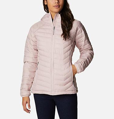 Women's Powder Lite™ Hooded Jacket Powder Lite™ Hooded Jacket | 192 | XS, Mineral Pink, front