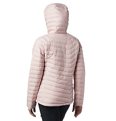 Powder Lite™ Kapuzenjacke für Damen Powder Lite™ Hooded Jacket | 011 | XS, Dusty Pink, back