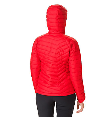 Giacca con cappuccio Powder Lite™ da donna Powder Lite™ Hooded Jacket | 103 | XS, Red Lily, back