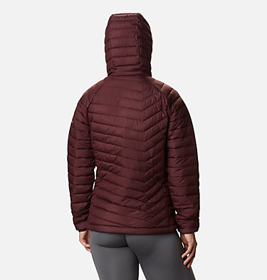 Women's Powder Lite™ Hooded Jacket Powder Lite™ Hooded Jacket | 192 | XS, Malbec, back