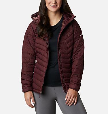 Women's Powder Lite™ Hooded Jacket Powder Lite™ Hooded Jacket | 192 | XS, Malbec, front