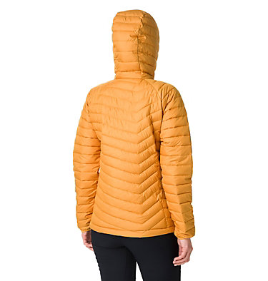Giacca con cappuccio Powder Lite™ da donna Powder Lite™ Hooded Jacket | 103 | XS, Raw Honey, back
