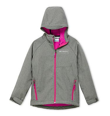 Youth Cascade Ridge™ Softshell Jacket Cascade Ridge™ Softshell | 010 | S, Charcoal Heather, front