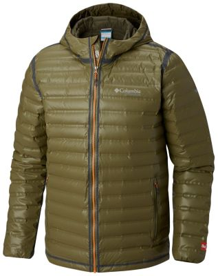 Outdry™ Men's Gold Ex Down Hooded Jacket rsQhdCxt