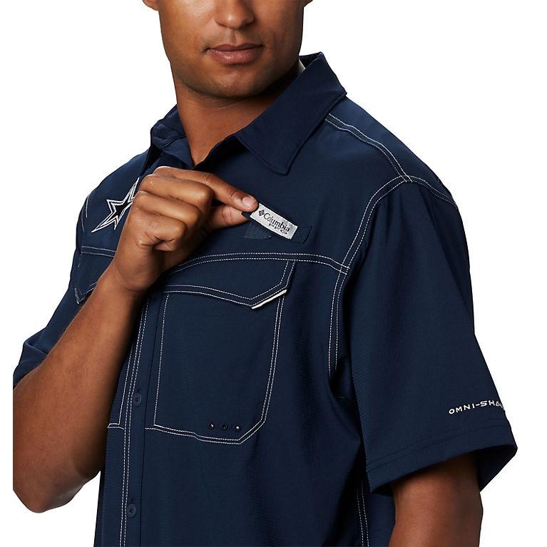 new styles ed078 58df8 Low Drag Offshore™ Short Sleeve Shirt - Dallas Cowboys