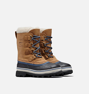 Women's Caribou™ WL Winter Boot CARIBOU™ WL | 286 | 5, Elk, Dark Mountain, 3/4 front