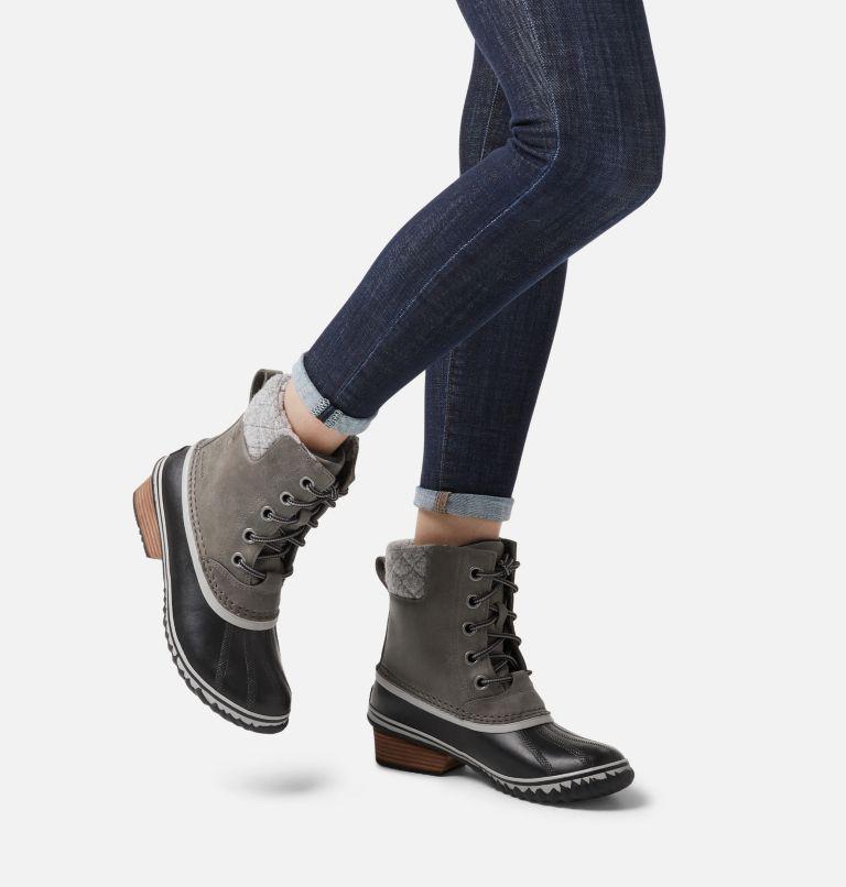 SLIMPACK™ LACE II | 052 | 5 Womens Slimpack™ II Lace Duck Boot, Quarry, Black, a9