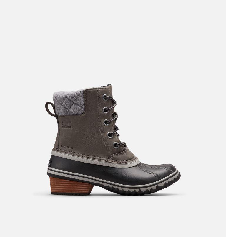 SLIMPACK™ LACE II | 052 | 5 Womens Slimpack™ II Lace Duck Boot, Quarry, Black, front