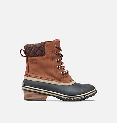 Womens Slimpack™ II Lace Duck Boot SLIMPACK™ LACE II | 052 | 10, Burro, Cattail, front