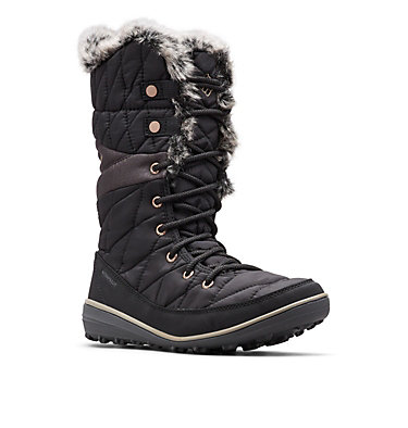 Women's Heavenly™ Omni-Heat™ Waterproof Boot HEAVENLY™ OMNI-HEAT™ | 010 | 5, Black, Kettle, 3/4 front