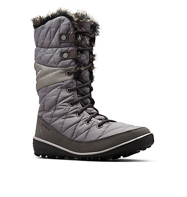 Women's Heavenly™ Omni-Heat™ Waterproof Boot HEAVENLY™ OMNI-HEAT™ | 010 | 5, Quarry, Dove, 3/4 front