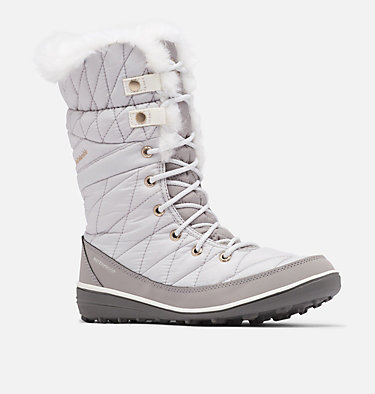 Women's Heavenly™ Omni-Heat™ Waterproof Boot HEAVENLY™ OMNI-HEAT™ | 010 | 5, Grey Ice, Sea Salt, 3/4 front