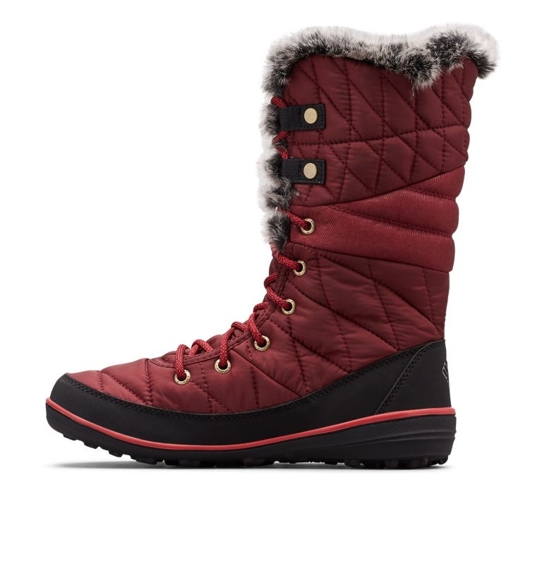 HEAVENLY™ OMNI-HEAT™ | 624 | 6 Women's Heavenly™ Omni-Heat™ Lace Up Boot, Rich Wine, Daredevil, medial