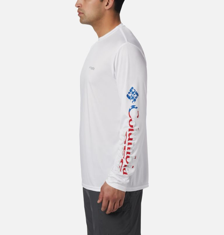 Men's Terminal Tackle™ PFG Sleeve Long Sleeve Shirt Men's Terminal Tackle™ PFG Sleeve Long Sleeve Shirt, a2