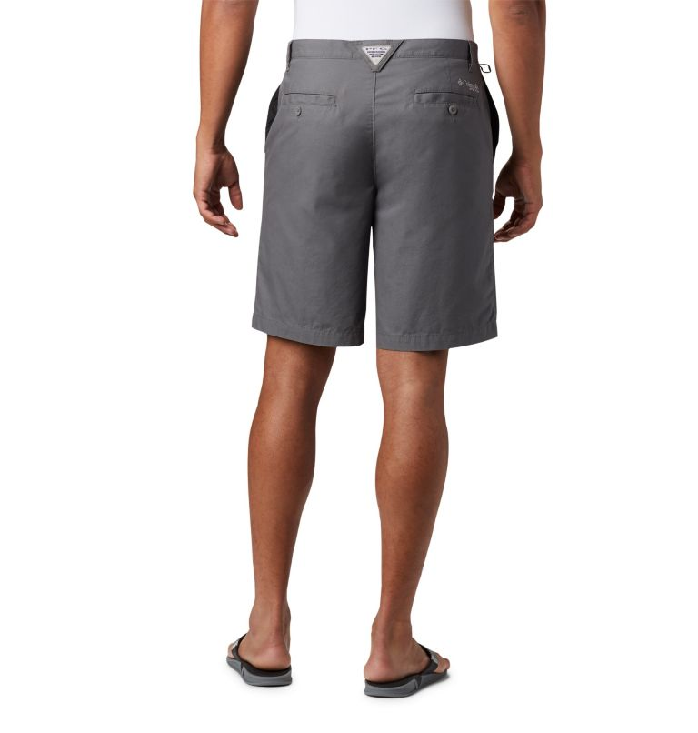 Bonehead™ II Short | 023 | 36 Men's PFG Bonehead™ II Shorts, City Grey, back