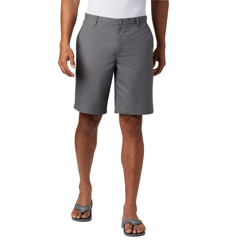 Bonehead™ II Short | 023 | 36 Men's PFG Bonehead™ II Shorts, City Grey, front