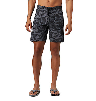 Men's PFG Offshore™ II Board Shorts PFG Offshore™ II Board Short | 909 | 40, Black Inside Out Camo, front