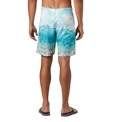 Men's PFG Offshore™ II Board Shorts PFG Offshore™ II Board Short | 909 | 40, Bright Aqua Inshore Print, back