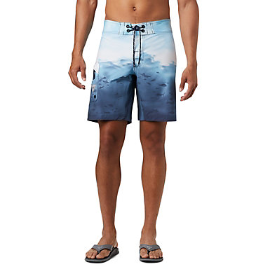 Men's PFG Offshore™ II Board Shorts PFG Offshore™ II Board Short | 909 | 40, Collegiate Navy Offshore Print, front