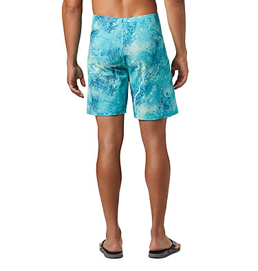 Men's PFG Offshore™ II Board Shorts PFG Offshore™ II Board Short | 909 | 40, Bright Aqua Realtree MAKO, back