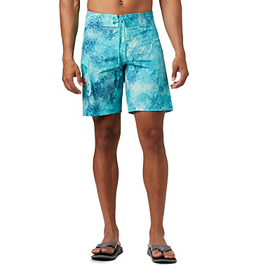 Men's PFG Offshore™ II Board Shorts PFG Offshore™ II Board Short | 909 | 40, Bright Aqua Realtree MAKO, front