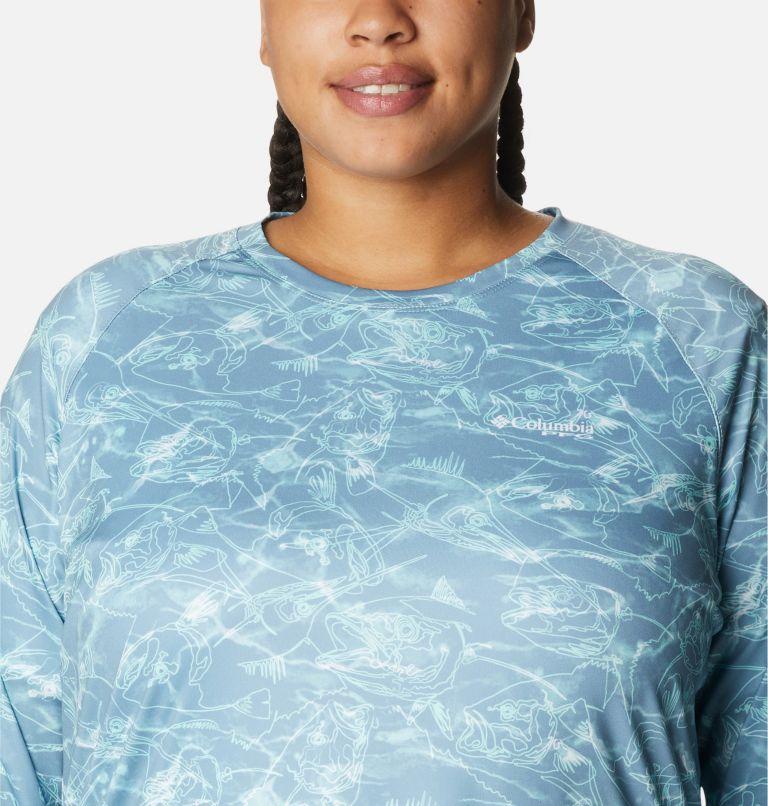 Women's PFG Super Tidal Tee™ II Long Sleeve Shirt - Plus Size Women's PFG Super Tidal Tee™ II Long Sleeve Shirt - Plus Size, a2