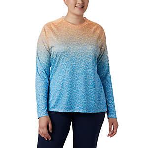 Women's PFG Super Tidal Tee™ II Long Sleeve Shirt - Plus Size