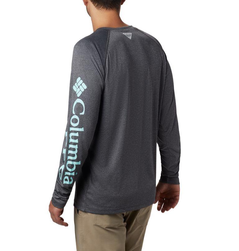 Men's PFG Terminal Tackle™ Heather Long Sleeve Shirt Men's PFG Terminal Tackle™ Heather Long Sleeve Shirt, back