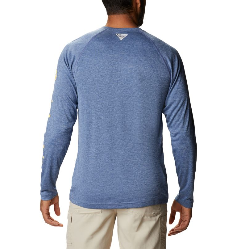 Men's PFG Terminal Tackle™ Heather Long Sleeve Shirt Men's PFG Terminal Tackle™ Heather Long Sleeve Shirt, back