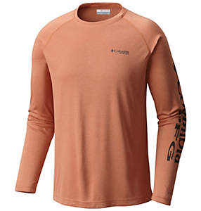 Men's PFG Terminal Tackle™ Heather Long Sleeve Shirt