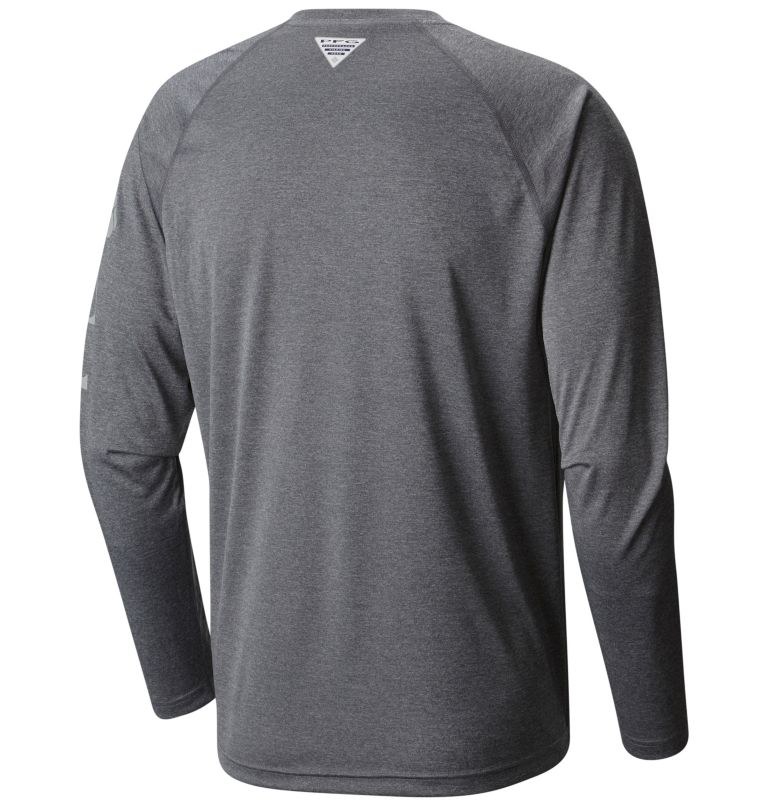 Men's PFG Terminal Tackle™ Heather Long Sleeve Shirt – Tall Men's PFG Terminal Tackle™ Heather Long Sleeve Shirt – Tall, back