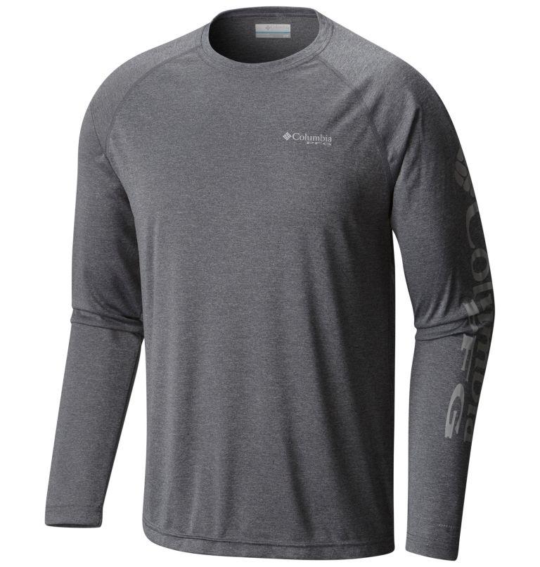 Men's PFG Terminal Tackle™ Heather Long Sleeve Shirt – Tall Men's PFG Terminal Tackle™ Heather Long Sleeve Shirt – Tall, front