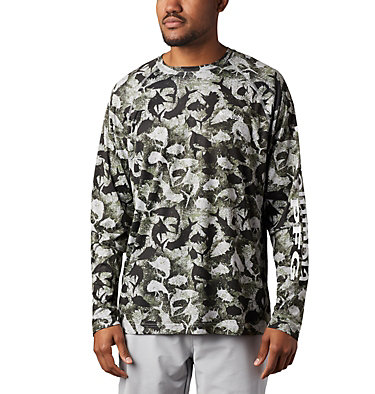Super Terminal Tackle™ Long Sleeve Shirt Super Terminal Tackle™ Long Sleeve Shirt | 910 | L, Cool Grey Inside Out Camo, front