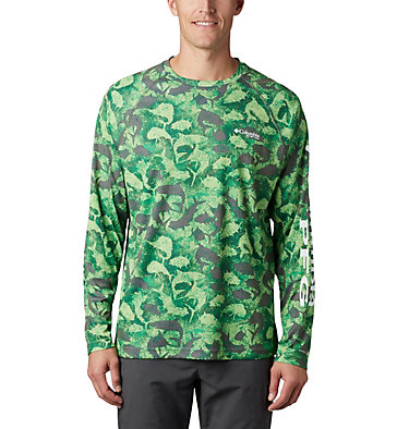 Super Terminal Tackle™ Long Sleeve Shirt Super Terminal Tackle™ Long Sleeve Shirt | 911 | L, City Grey Inside Out Camo, front