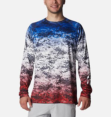 Super Terminal Tackle™ Long Sleeve Shirt Super Terminal Tackle™ Long Sleeve Shirt | 911 | L, Americana Digi Camo Fade, front