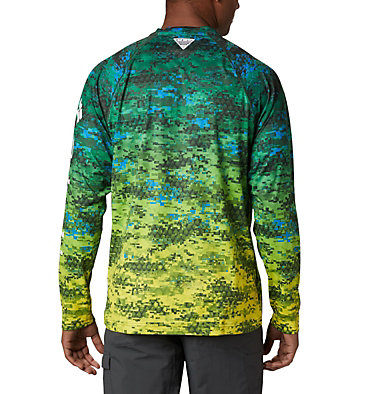 Super Terminal Tackle™ Long Sleeve Shirt Super Terminal Tackle™ Long Sleeve Shirt | 911 | L, Dorado Digi Camo Fade, back