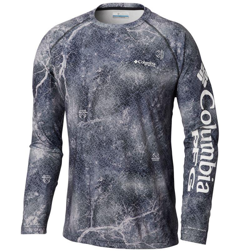 Super Terminal Tackle™ Long Sleeve Shirt | 904 | XXL Men's Super Terminal Tackle™ Long Sleeve Shirt, Black Realtree MAKO, front