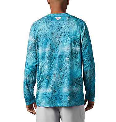 Super Terminal Tackle™ Long Sleeve Shirt Super Terminal Tackle™ Long Sleeve Shirt | 911 | L, Bright Aqua Realtree MAKO, back