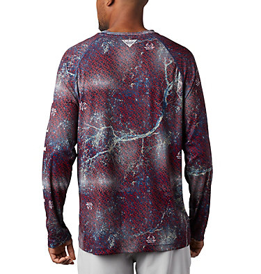 Super Terminal Tackle™ Long Sleeve Shirt Super Terminal Tackle™ Long Sleeve Shirt | 910 | L, Carbon Realtree MAKO, back