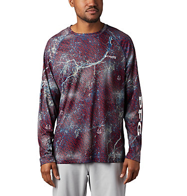 Super Terminal Tackle™ Long Sleeve Shirt Super Terminal Tackle™ Long Sleeve Shirt | 910 | L, Carbon Realtree MAKO, front