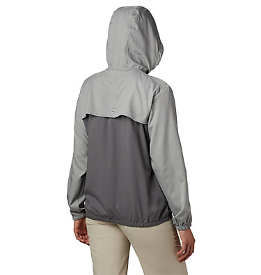 Women's PFG Tamiami™ Hoodie Tamiami™ Hoodie | 463 | L, City Grey, New Mint, back