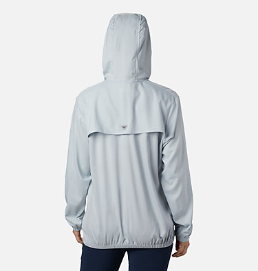 Women's PFG Tamiami™ Hoodie Tamiami™ Hoodie | 463 | L, Cirrus Grey, Stormy Blue, back
